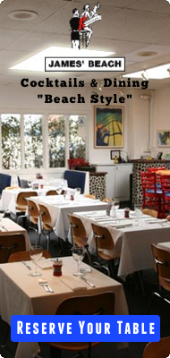 James' Beach - Reserve Your Table